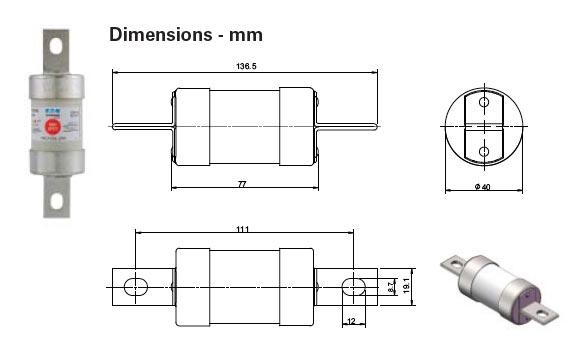 TKF gG Low Voltage Fuses 660-690v AC 460v DC