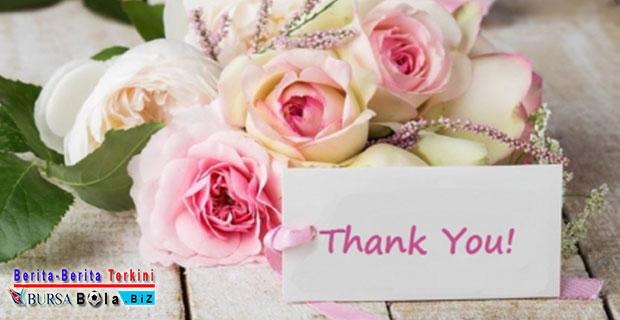 Sudahkah Hari Ini Anda Mengucapkan Terima Kasih?