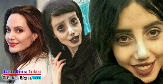 Viral Wajah Horor Wanita Yang Jalani Operasi Plastik Hingga 50 Kali Mirip Angelina Jolie Ternyata Palsu!