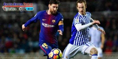 Bertandang ke Markas Real Sociedad, Barcelona Sukses Bawa Pulang 3 Poin