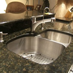 Kitchen Sink Air Gap Black Metal Cabinets Bursa Mutfak Tezgahı