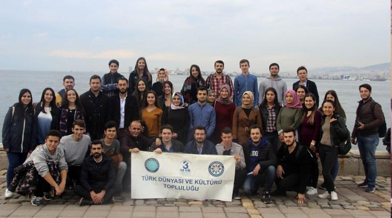 Türk Dünyası ve Kültürü Topluluğu 4. Geleneksel İzmir Gezisi