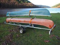 C2 Side-Loader Canoe/Kayak Trailer. Mountain bike trailers ...