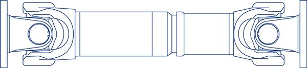 Cardan Shaft. 687_688 Model.