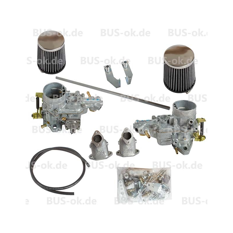 Dual Weber 34 ICT Carb Kit (Twin Port) VW T2 Bay 1600cc