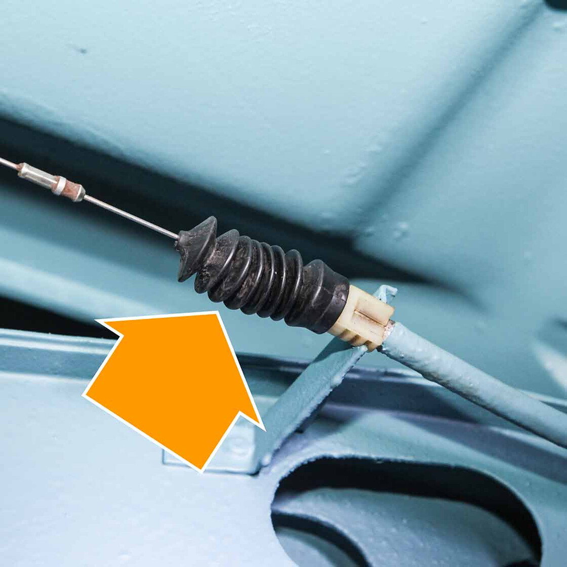 Heater Cable Boot for VW T2 Bay 1967?1979 and T25 2000cc