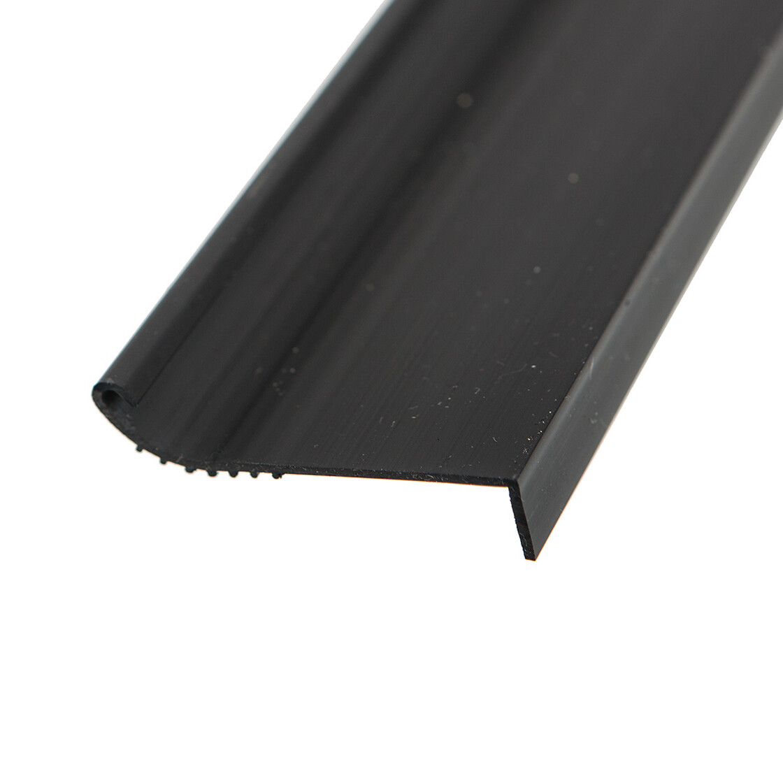 t25 sliding door sill cover pvc black exclusive made in germany 255 070 050d 01c
