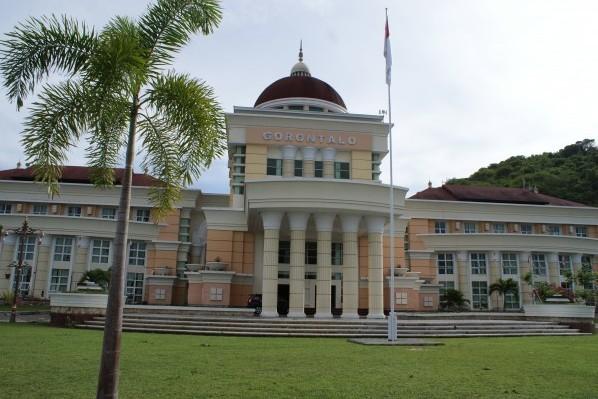 kantor gubernur gorontalo