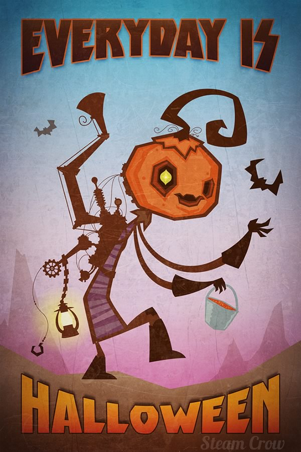 everyday-is-halloween-steam-crow