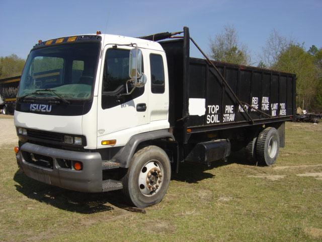 Used Isuzu Dump Truck