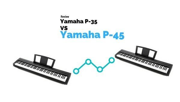 Análisis y opinión del teclado piano Yamaha P 35 vs Yamaha