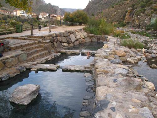 Aguas termales en Arnedillo