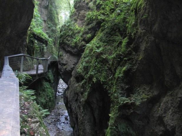 ruta al Desfiladero de Kakueta