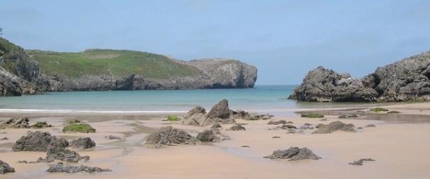 La Playa de Borizu. Plyas de LLanes