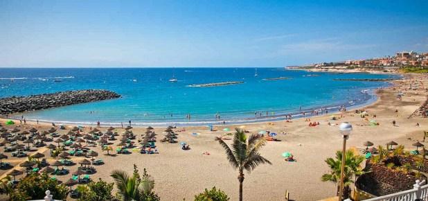 Playa de las Américas. Playas más visitadas