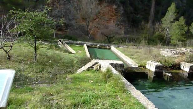 Ruta de la Tosquilla, piscifactoría