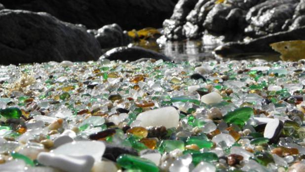 Playa de los Cristales. Paisajes Naturales de Galicia