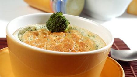 Pastel de coliflor y brócoli