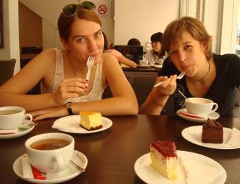 Restaurante tarta de queso