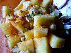 Rodajas de melon y queso