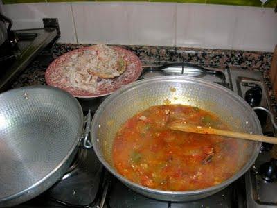 Sopa de buey de mar y maíz
