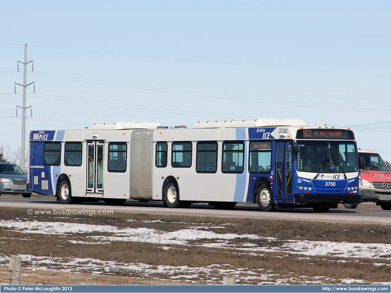 Www Busdrawings Com Airdrie Transit 2010 New Flyer