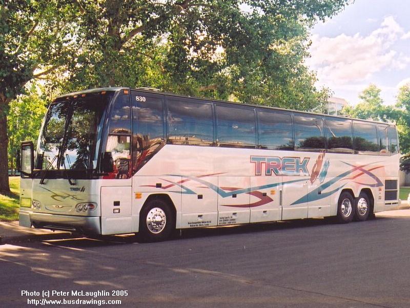 Www Busdrawings Com Tot Em Prevost H3 45 Traxx Coach Lines