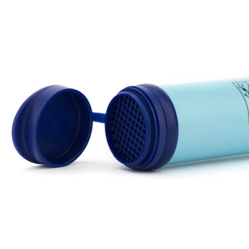 LifeStraw Personal Water Filter opening