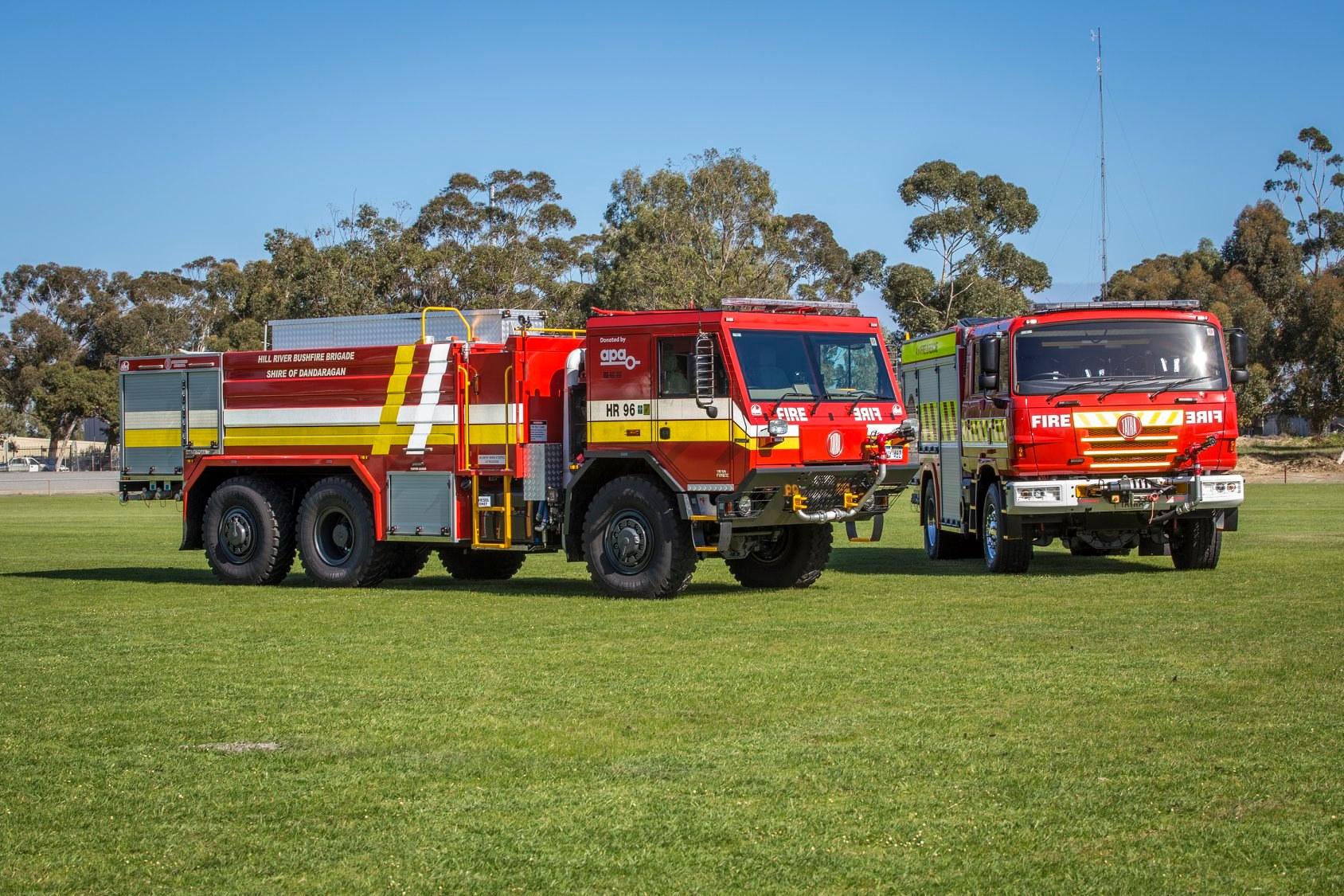Shire of Dandaragan, Hill River Bush Fire Brigade's new Tatra 9.6. Photo: Off Road Trucks