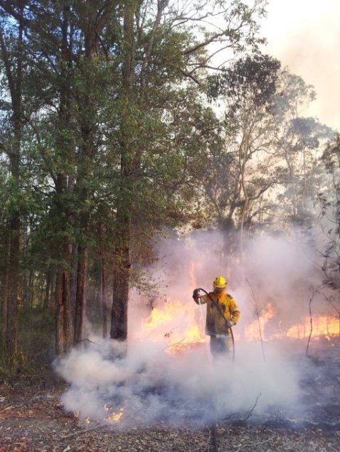 Hosed down: Queensland's Fire and Emergency Services has hosed down rural firefighters' concerns, saying it is working to ensure all three services continue to grow and work together. Picture: RFBAQ