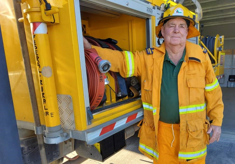 Rural Fire Brigades Association of Queensland president Ian Pike says the degree of unhappiness in his 1440 rural brigades with the way they've been shunted aside is huge. Picture - RFBAQ.