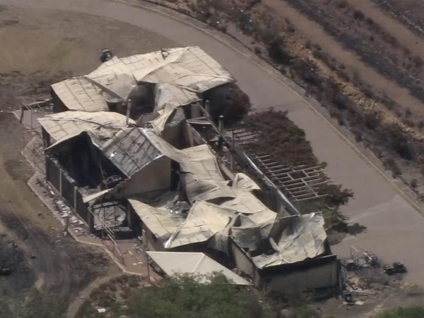 Damage that has occured due to the Wooroloo fires. 86 homes have been lost due to the fires. Credit: 7NEWS/7NEWS