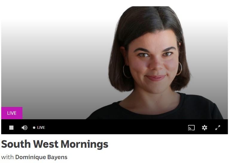 ABC Southwest Mornings presenter Dominique Bayens
