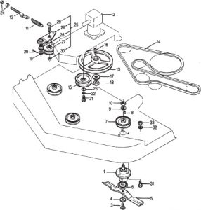 King Kutter Finish Mower Belt Diagram • Wiring And Engine
