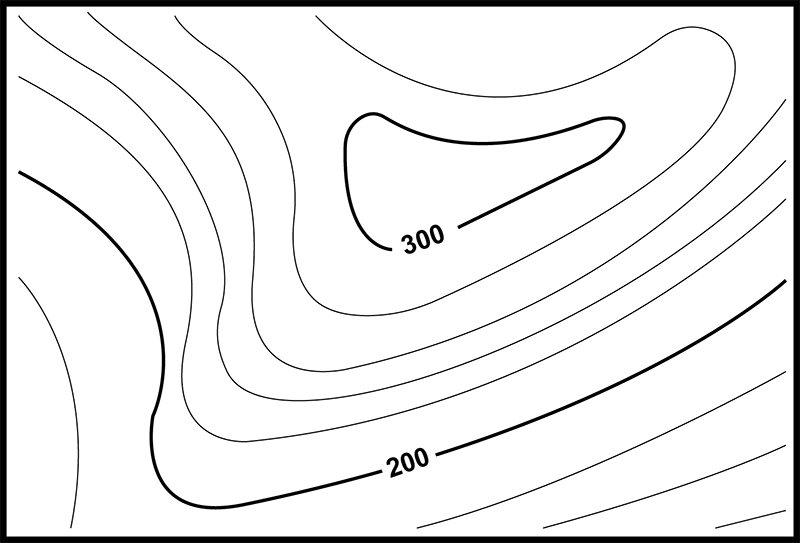 Interpreting map features