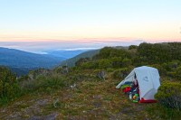 Msr Hubba Solo Tent & The Large Contrast To The Hubba Tour ...