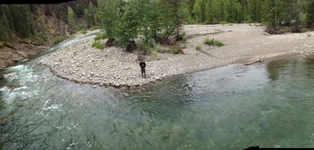 A nice stretch on the Highwood River