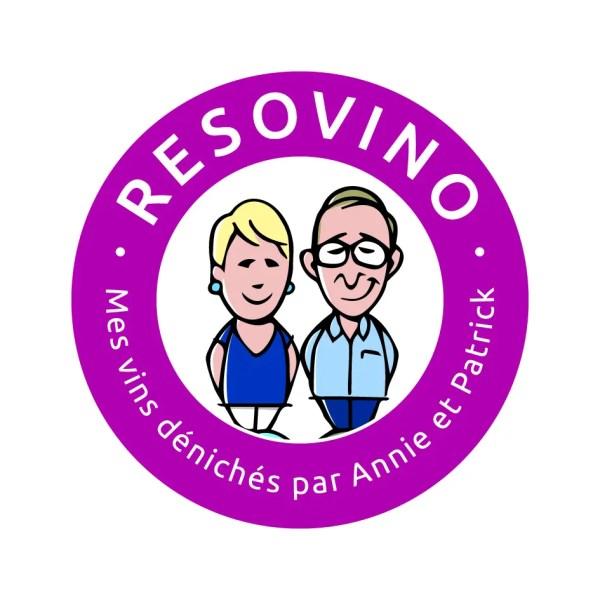 Le logo de la marque Resovino by Creads