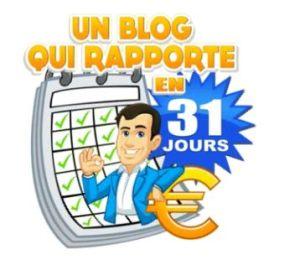 un blog qui rapporte en 31 jours