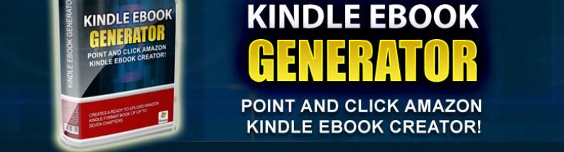 générateur d'e-book pour kindle