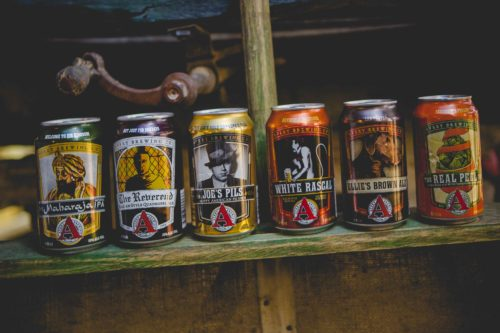 Avery Brewing craft beer product range