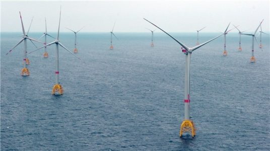 Iberdrola's Wikinger offshore wind farm in Baltic Sea