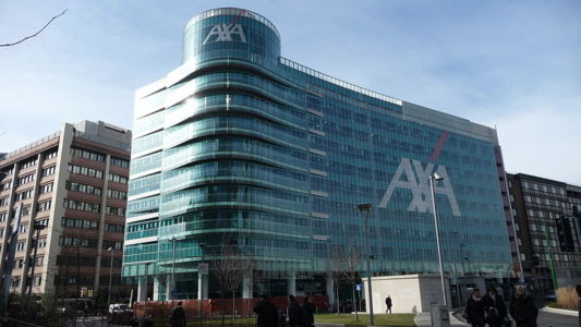 Axa's Italy headquarters in Milan