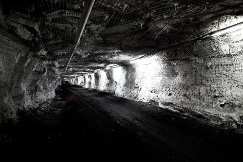 Kestrel coal mine, an underground coal mine in Queensland, Australia.