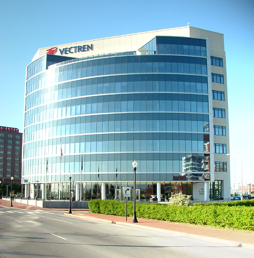 Vectren headquarters in Evansville, Indiana