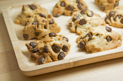 chocolate-chip cookies