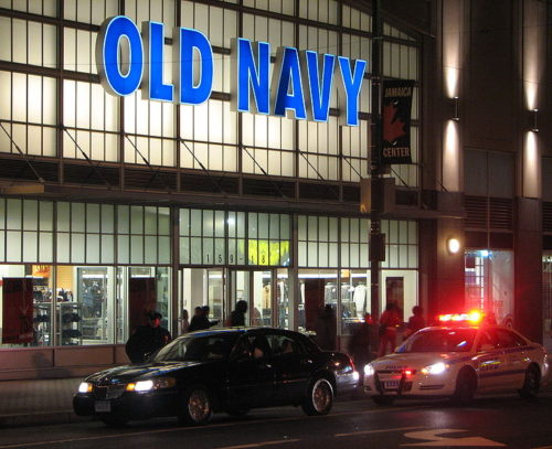 An Old Navy store in the US