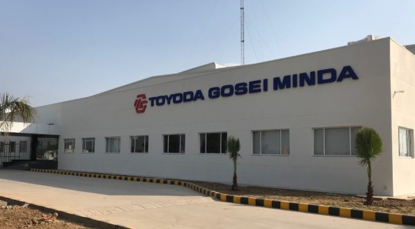 The new automotive parts plant in Gujarat of Toyoda Gosei Minda India