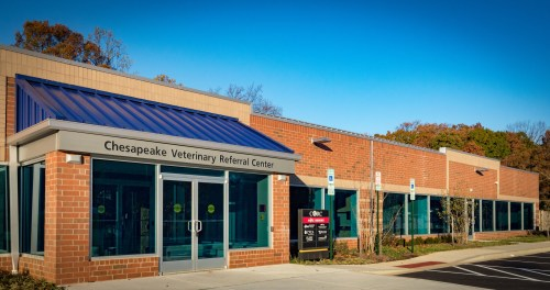 New CVRC veterinary hospital in Annapolis, Maryland.