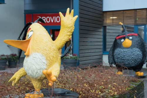 Rovio acquisition of PlayRaven